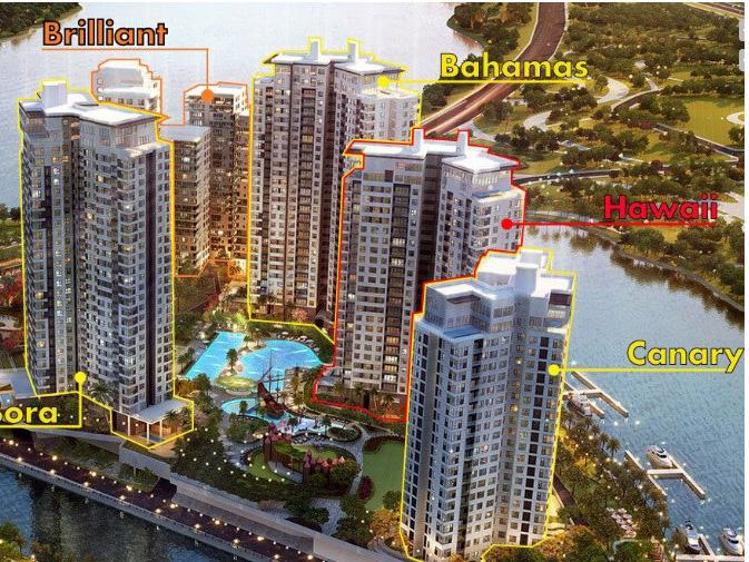 Mặt bằng căn hộ dự án Đảo Kim Cương – Tháp Hawaii