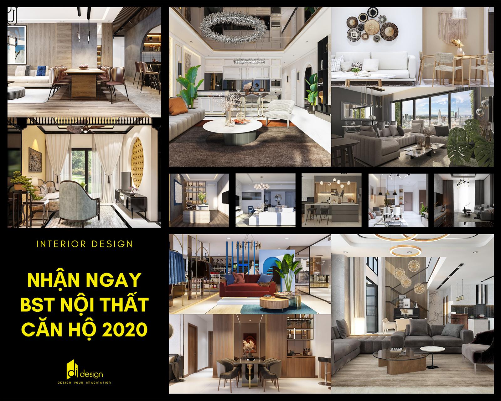 Đăng ký nhận ngay bộ sưu tập nội thất căn hộ đẹp năm 2021