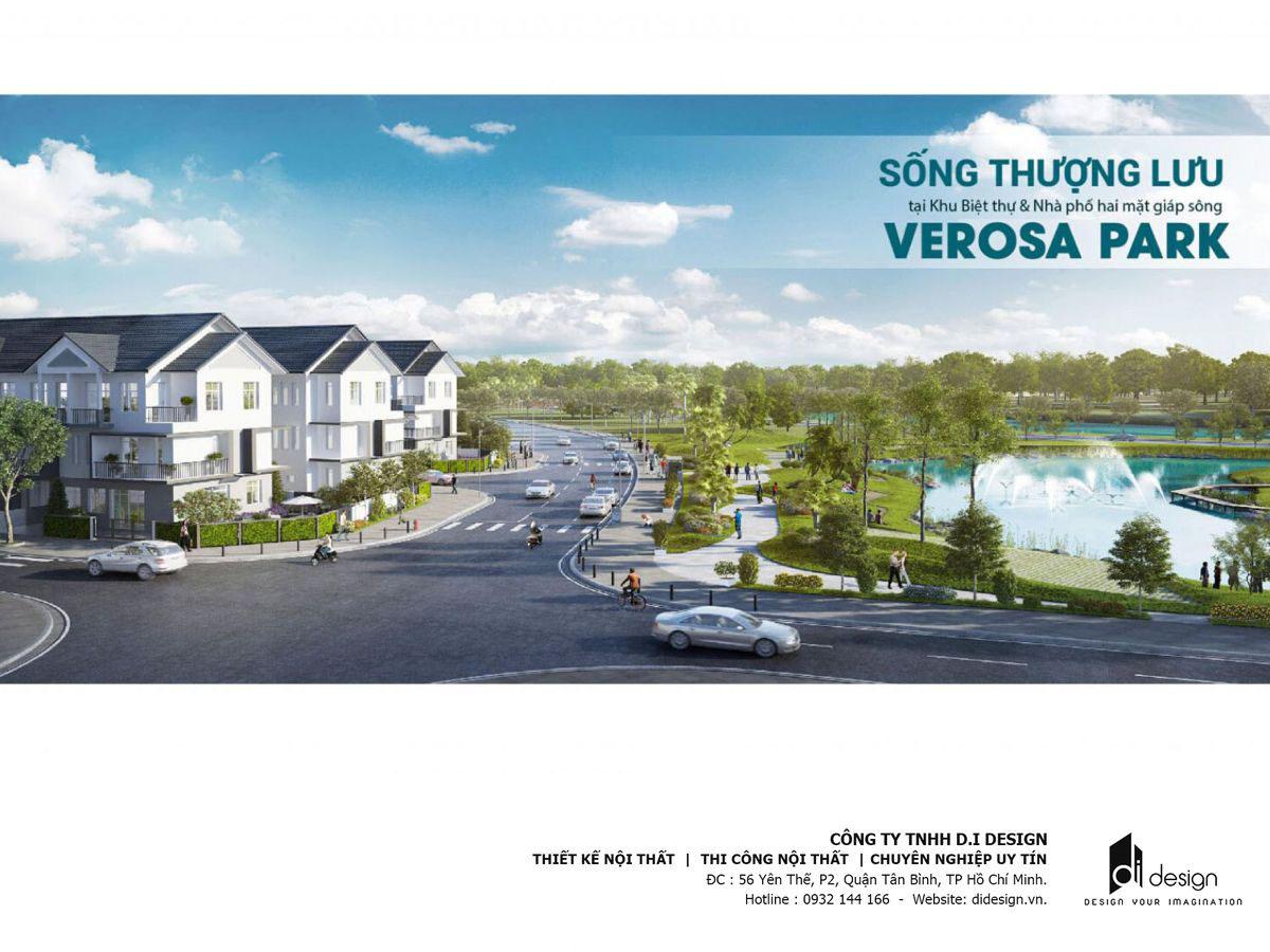 Mặt bằng Nhà phố Verosa Park Khang Điền