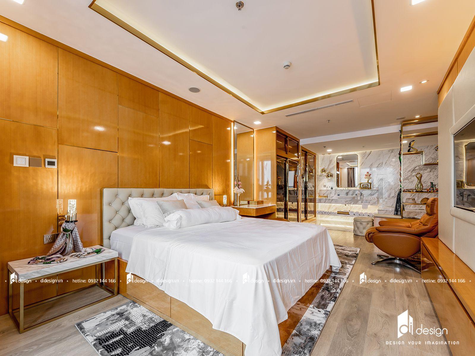 Thi công nội thất căn hộ Landmark 81 156m2 phong cách tân cổ điển