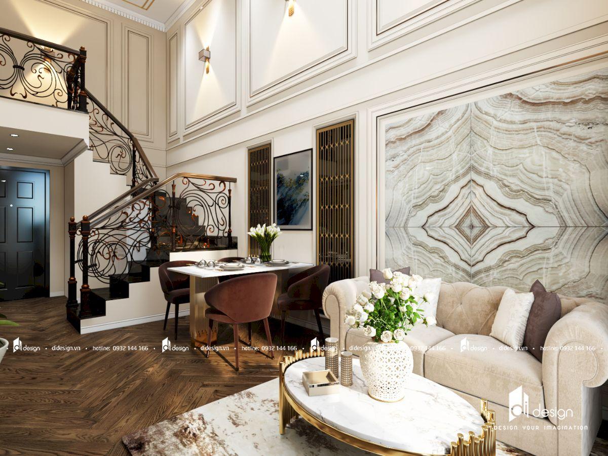 Thiết kế căn hộ Feliz En Vista 102m2 phong cách Châu Âu