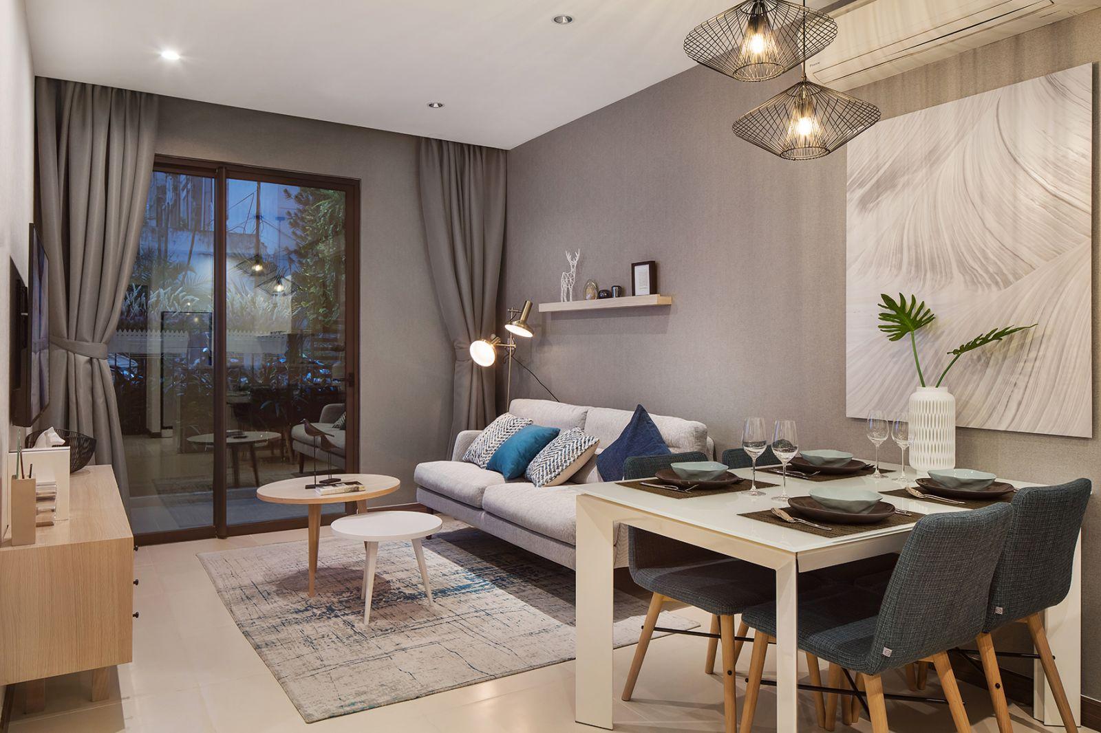 Thiết kế nội thất căn hộ Hà Đô Centrosa sang trọng