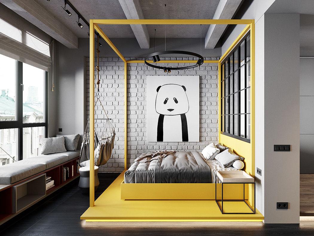 Thiết kế nội thất căn hộ 46m2 Hà Đô Centrosa