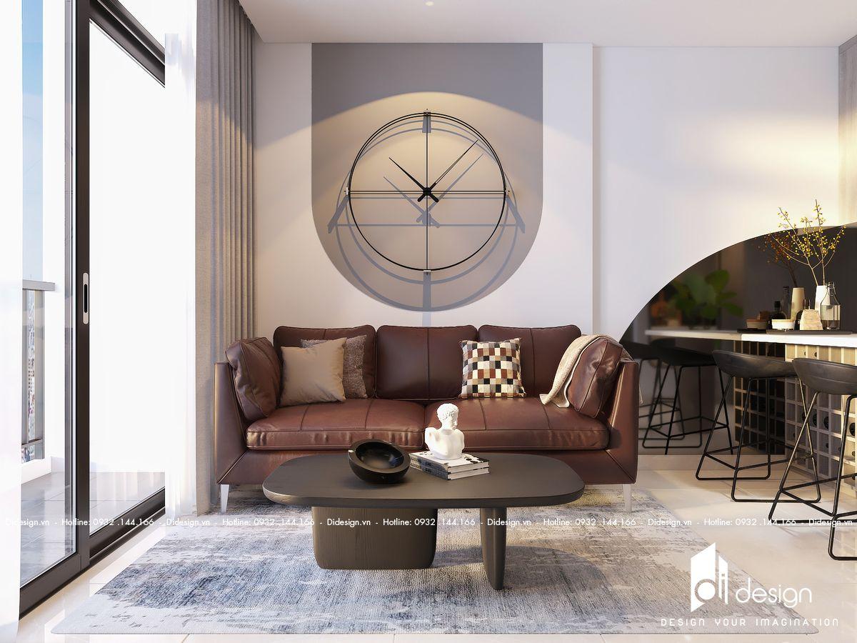 Nội thất căn hộ Vinhomes Grand Park đẹp ấm áp cho đôi vợ chồng trẻ