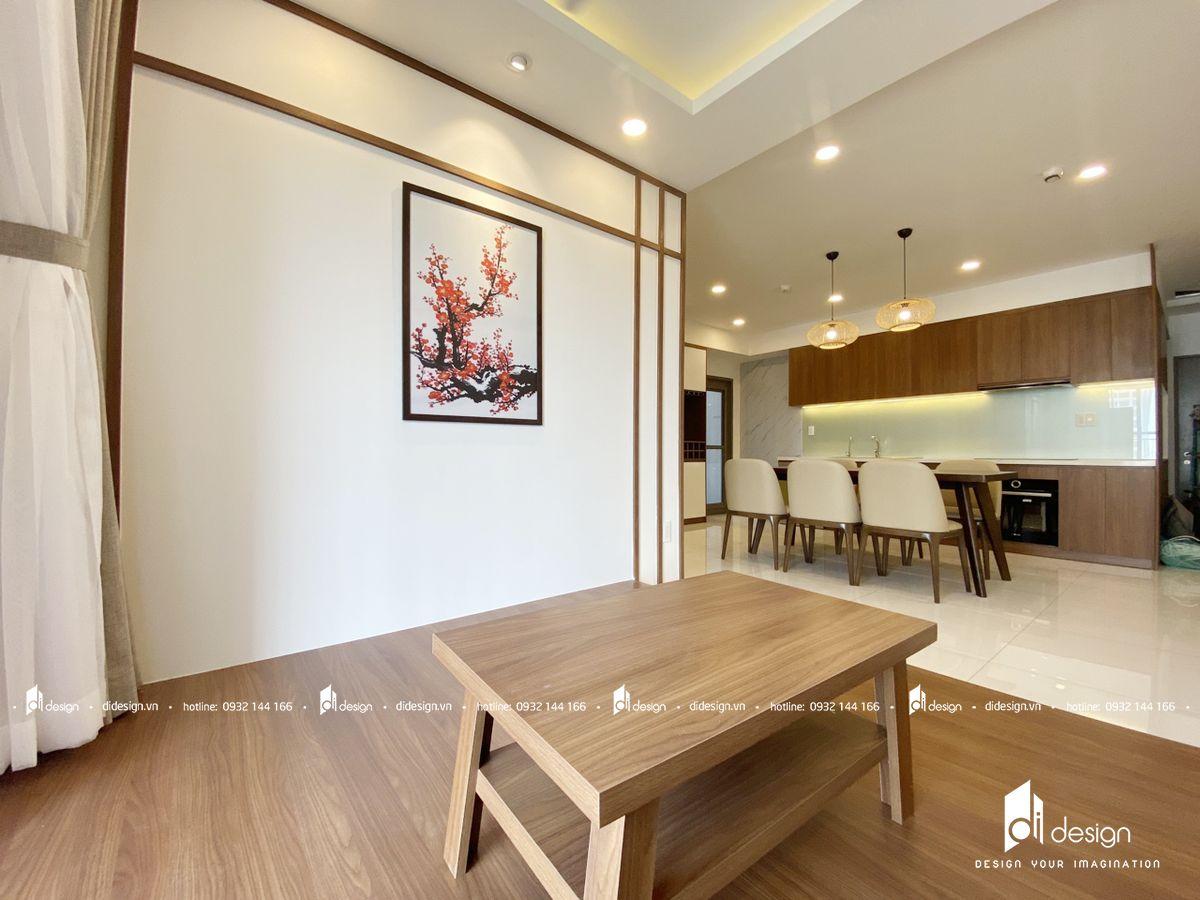 Thi công nội thất căn hộ SSR Saigon South Residences 95m2