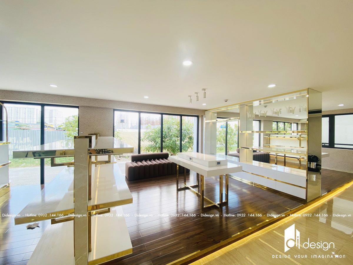 Thi công nội thất showroom Luxury 120m2