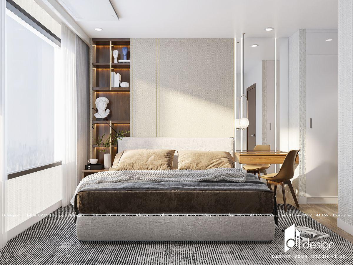 Thiết kế căn hộ 100m2 3 phòng ngủ Kingdom 101 đẹp tinh tế