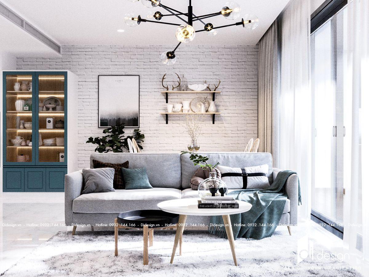 Thiết kế căn hộ 100m2 Sunwah Pearl đẹp lôi cuốn mọi ánh nhìn