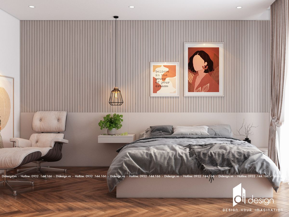 Thiết kế nội thất căn hộ 82m2 Lovera Vista đẹp và tiện nghi