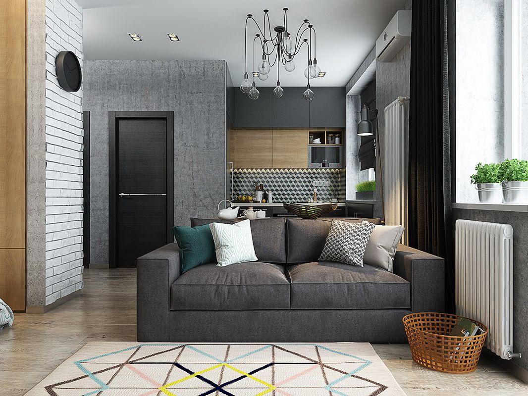 Thiết kế căn hộ đẹp 52m2 Viva Riverside