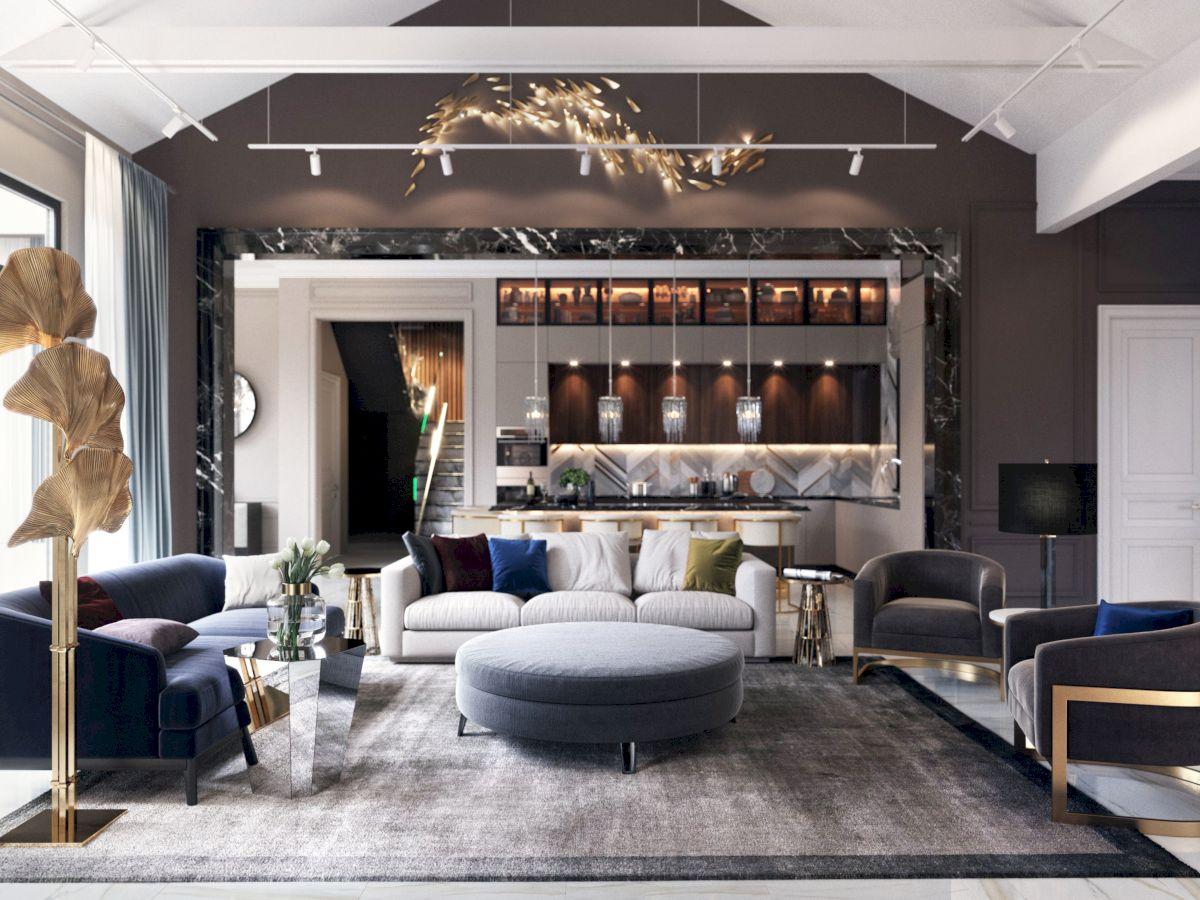 Thiết kế căn hộ Duplex Feliz En Vista 91m2 2 phòng ngủ
