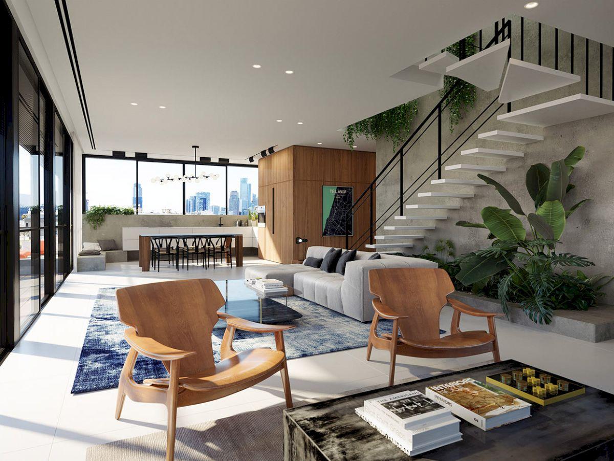 Thiết kế căn hộ Penthouses đẹp, sang trọng