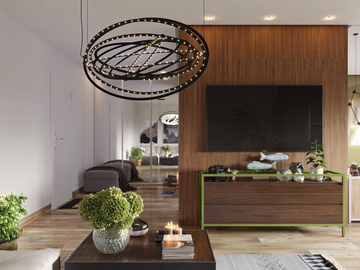 Thiết kế căn hộ studio cho thuê Grand City đẹp