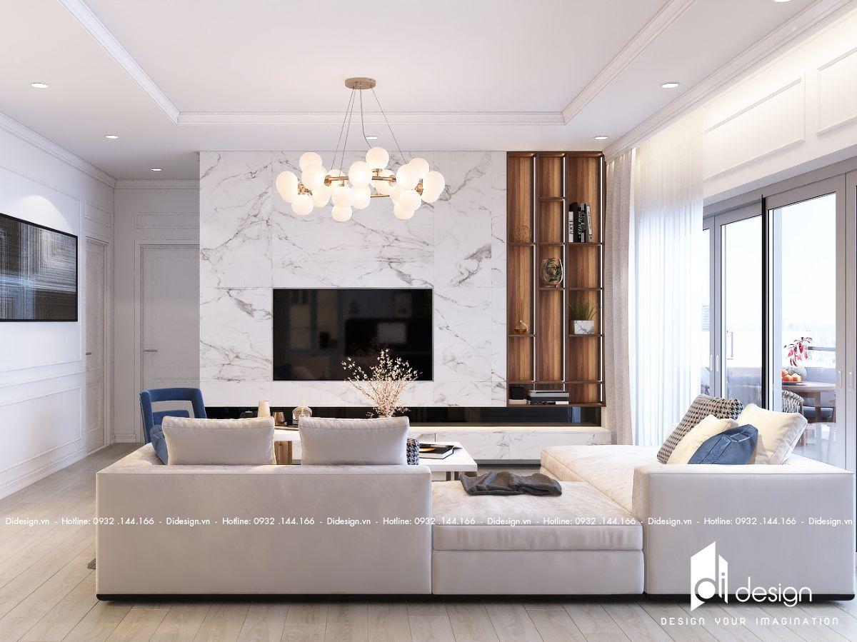 Thiết kế nội thất căn hộ Sunshine City 102m2 Quận 7 đẹp sang trọng quyến rũ
