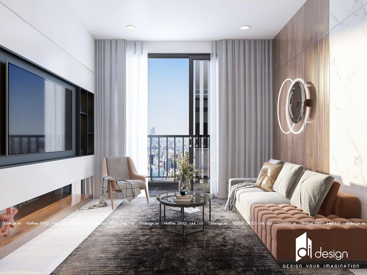 Thiết kế căn hộ Sunwah Pearl 2 phòng ngủ hiện đại và tiện nghi