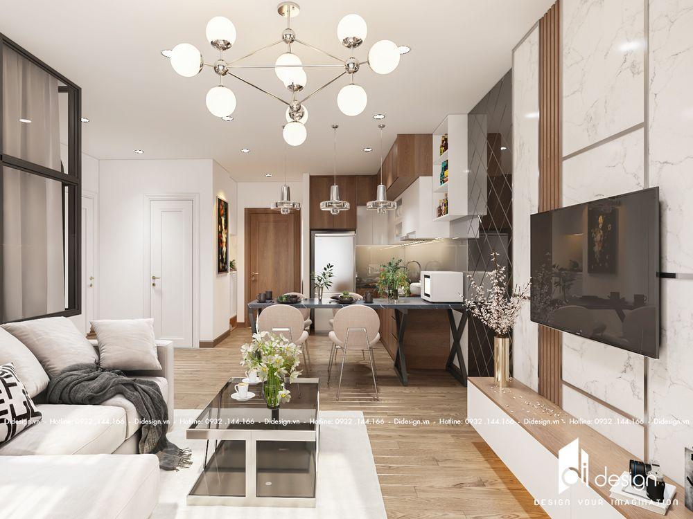 Thiết kế căn hộ Vinhomes Grand Park 1 phòng ngủ đẹp tinh tế
