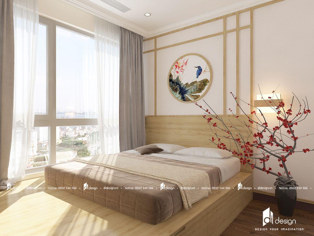Thiết kế căn hộ Vinhomes Grand Park Quận 9 phong cách Nhật Bản đem lại sự an yên