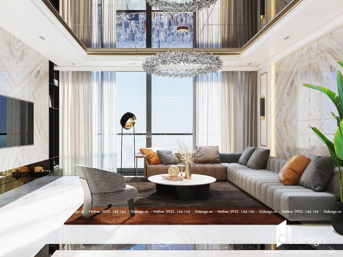 Thiết kế nội thất biệt thự The Manhattan sang trọng