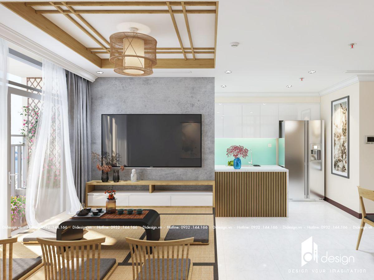 Thiết kế nội thất căn hộ 106m2 Feliz En Vista đẹp mê mẩn