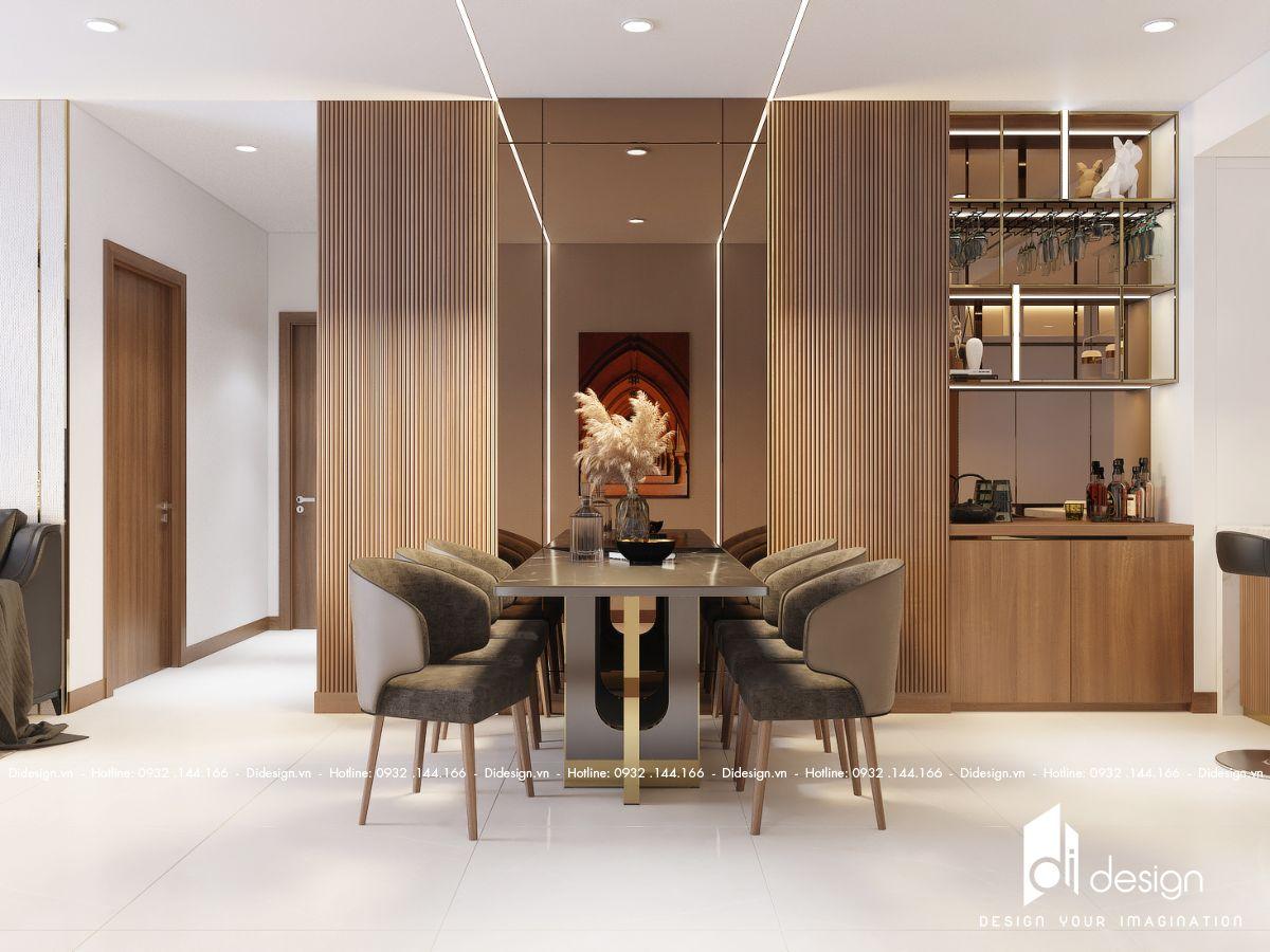 Thiết kế nội thất căn hộ 109m2 One Verandah đẹp kiêu kỳ