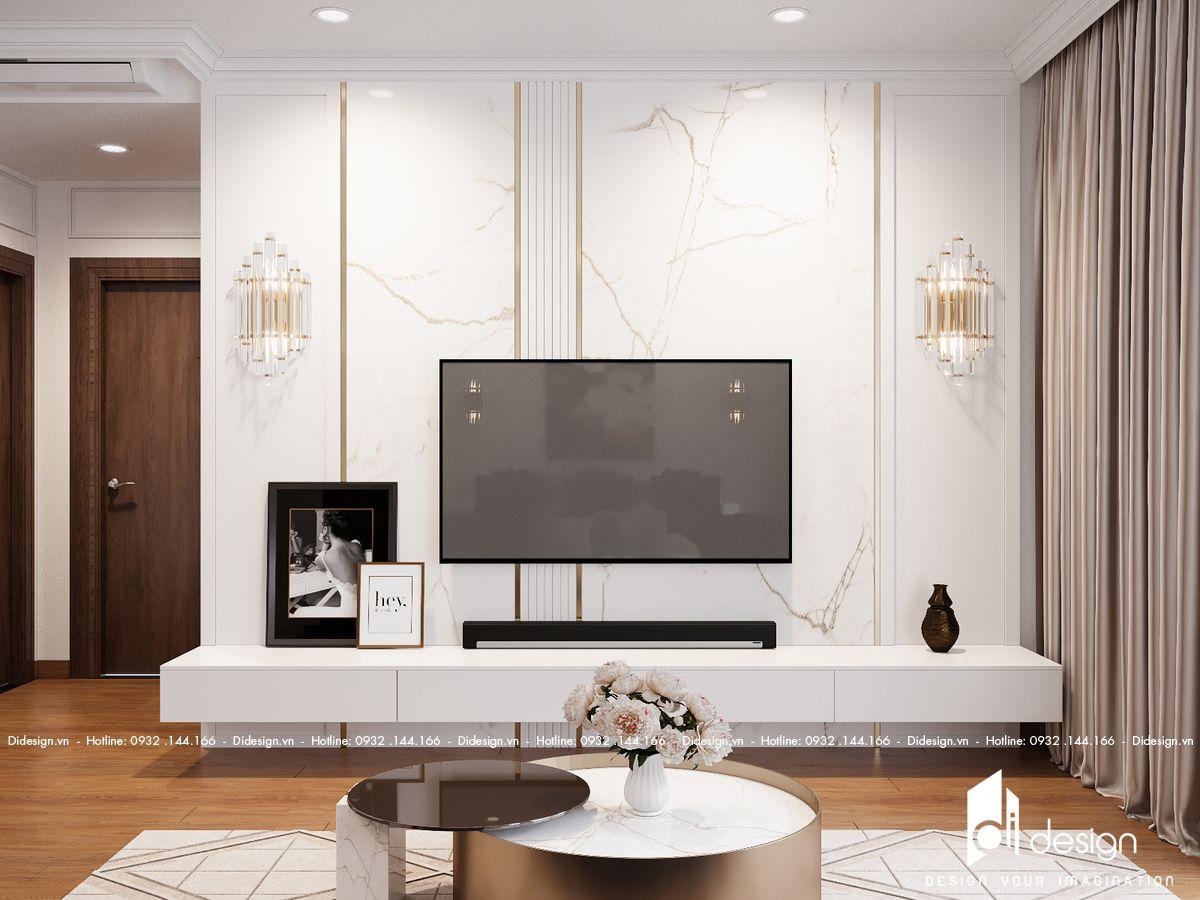 Thiết kế nội thất căn hộ 110m2 Sunwah Pearl