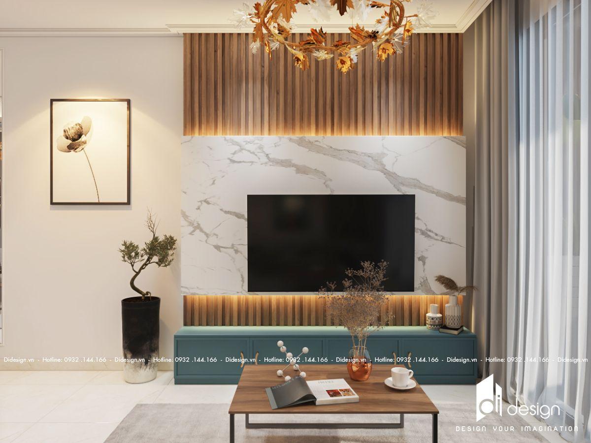 Thiết kế nội thất căn hộ Emerald Celadon City 65m2 tiện nghi khiến nhiều người ao ước