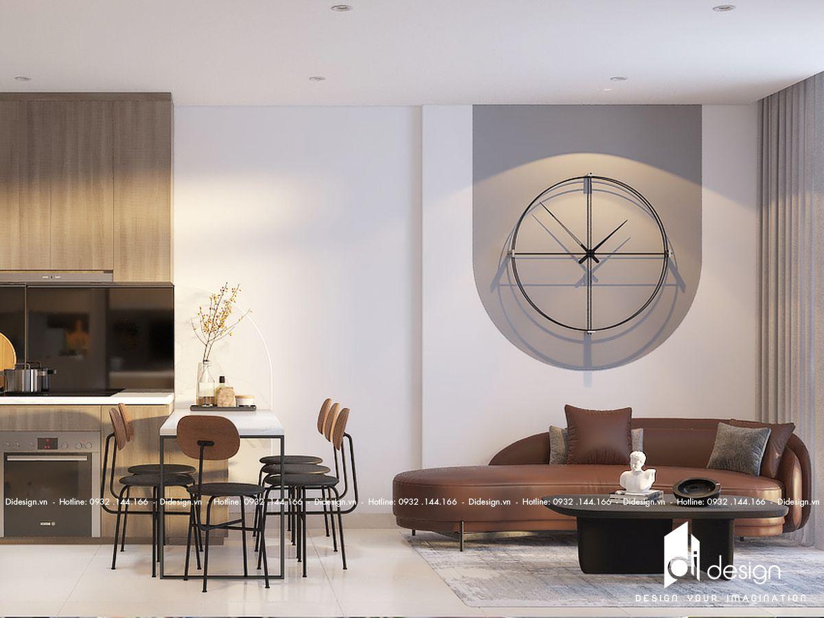 Thiết kế nội thất căn hộ 69m2 Masteri Parkland đẹp sang trọng