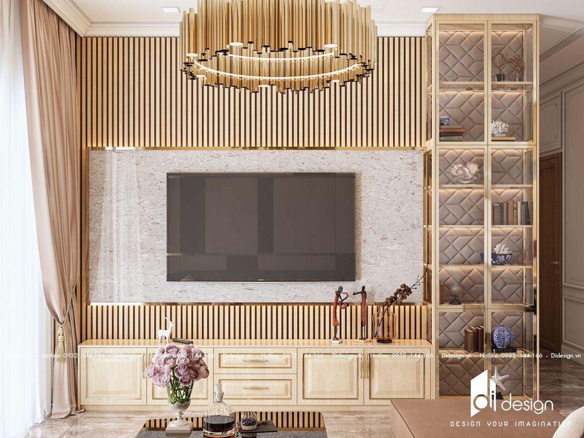 Thiết kế nội thất căn hộ 90m2 D'Edge sang trọng và đẳng cấp