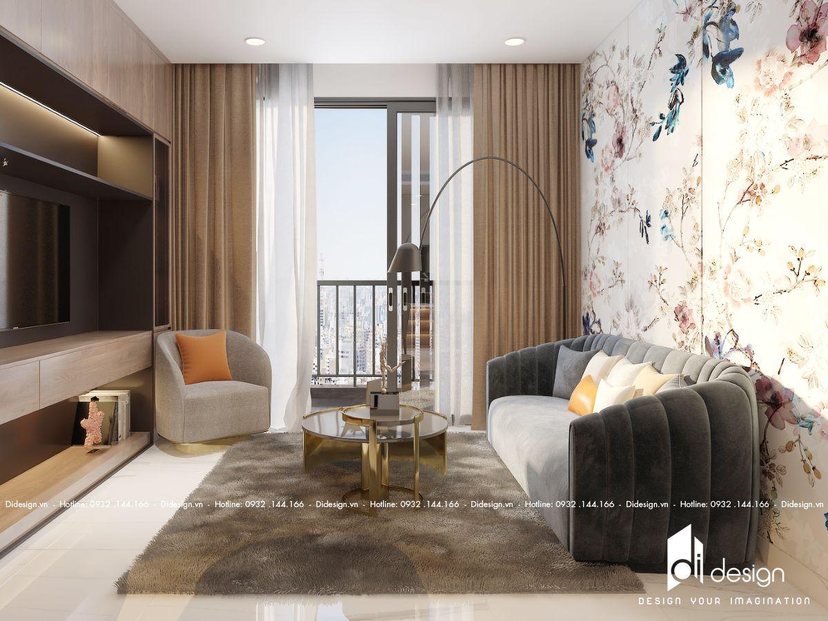 Thiết kế căn hộ Empire city 93m2 quận 2 sang trọng