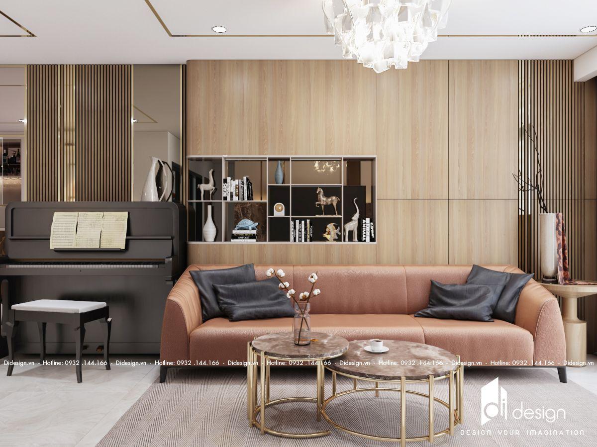 Thiết kế nội thất căn hộ One Verandah 98m2