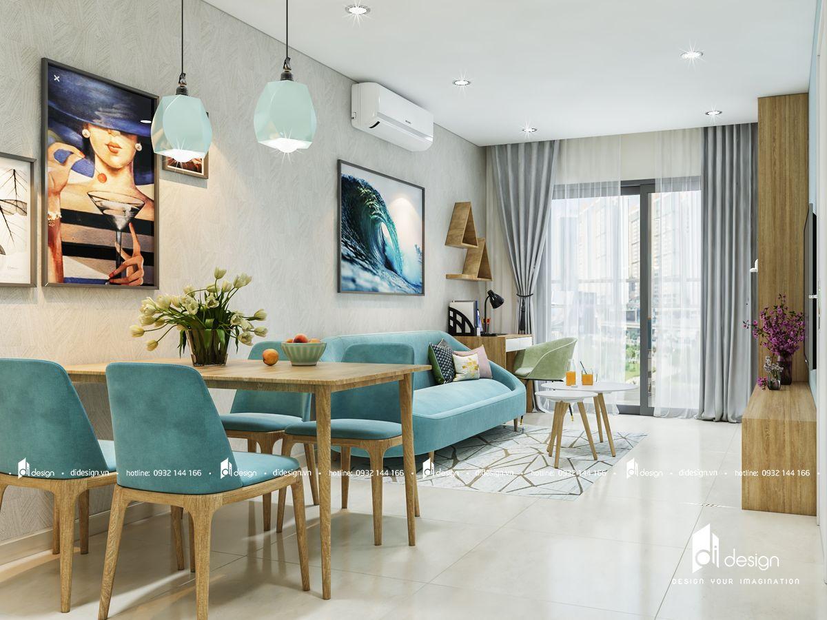 Thiết kế nội thất căn hộ De Capella 70m2