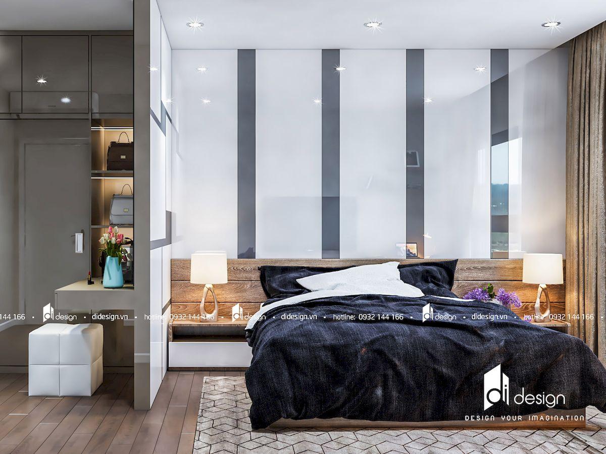 Thiết kế nội thất căn hộ 92m2 Estella Height 2 Phòng Ngủ
