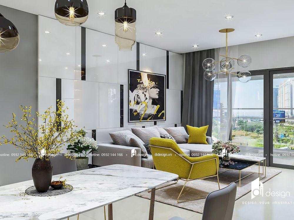 Thiết kế nội thất căn hộ Estella Height 126m2