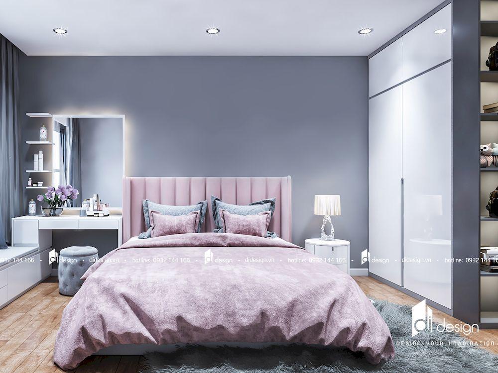 Thiết kế nội thất căn hộ 2 phòng ngủ 98m2 Hà Đô Centrosa