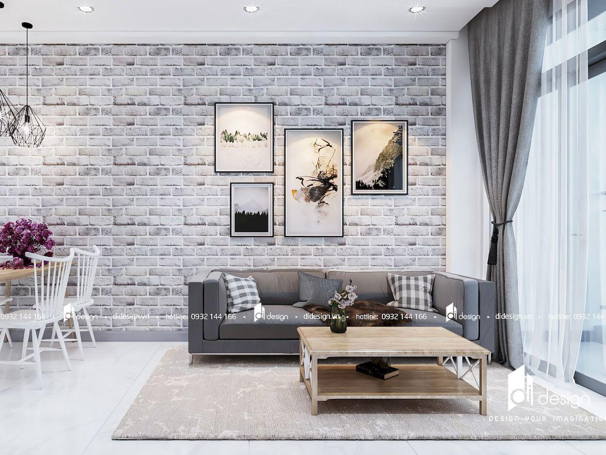 Thiết kế nội thất căn hộ Jamila Khang Điền 68m2