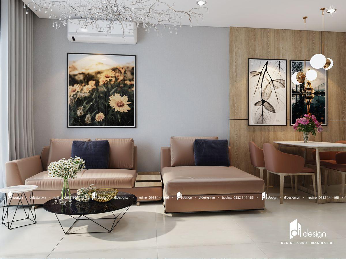 Thiết Kế căn hộ 3 Phòng Ngủ Jamila Khang Điền 92m2