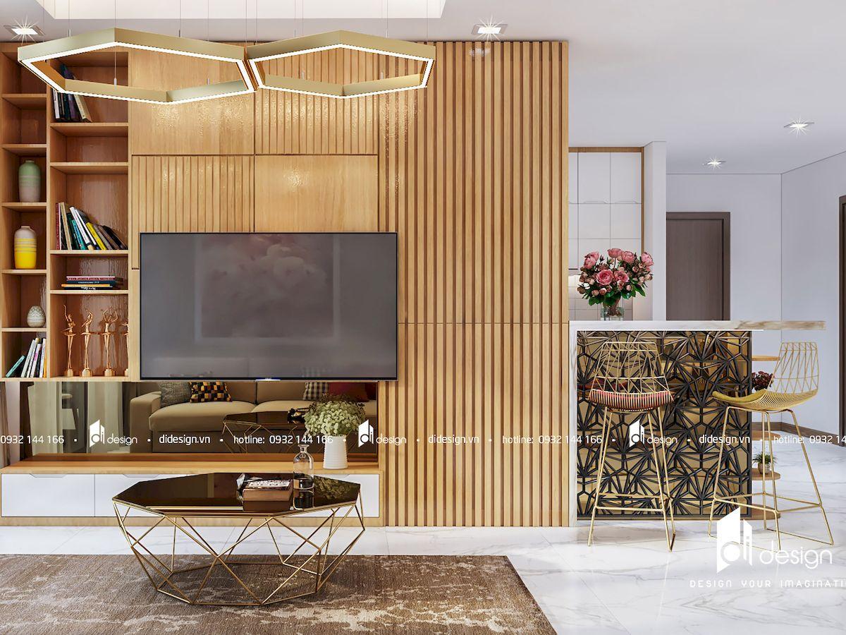 Thiết kế nội thất căn hộ Vinhomes Landmark 81 160m2