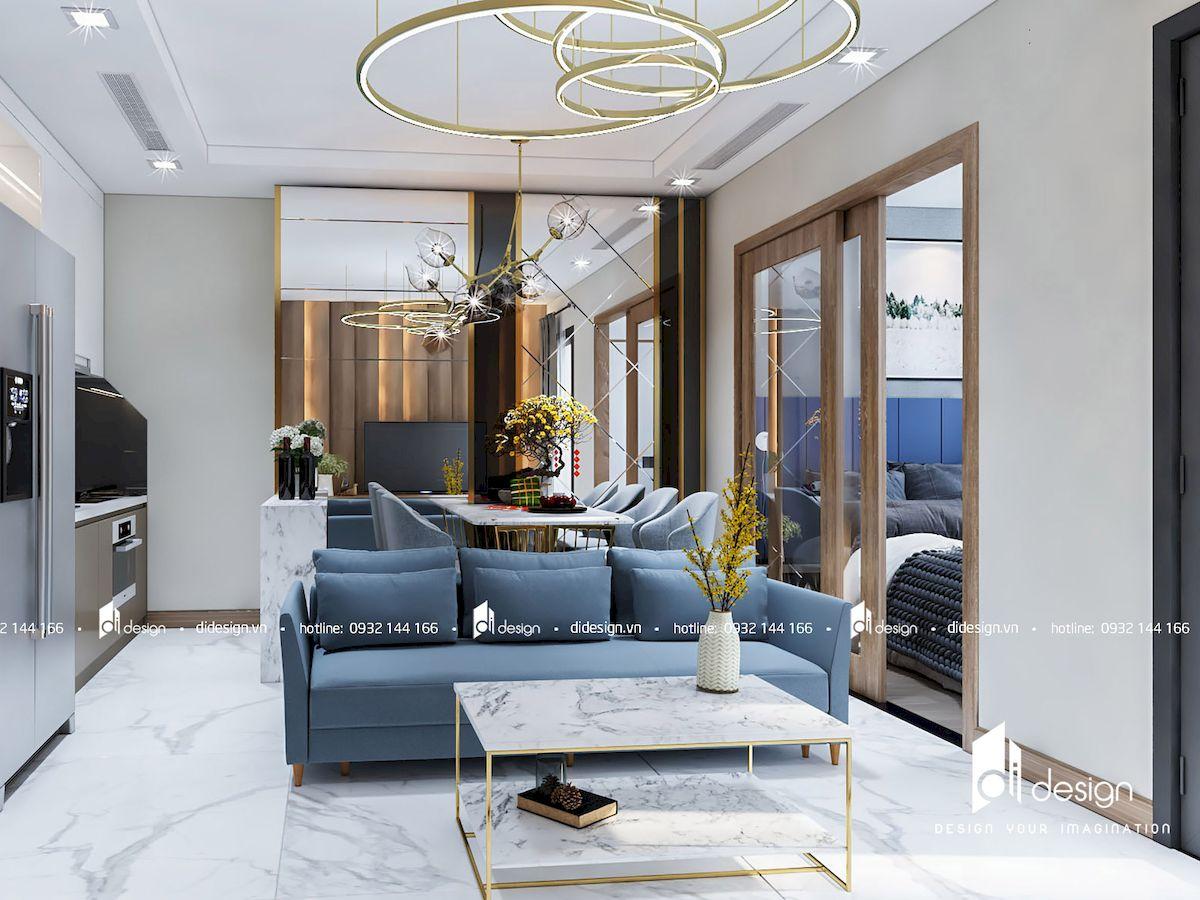 Thiết kế nội thất căn hộ 48m2 Landmark 81 Vinhomes