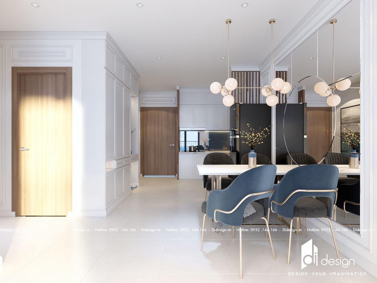 Thiết kế nội thất căn hộ Palm Garden 80m2