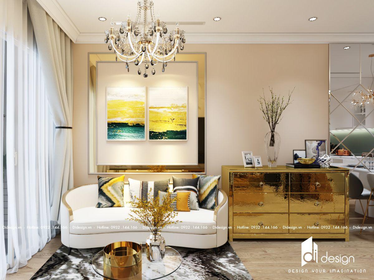Thiết kế nội thất căn hộ Terra Royal 71m2 sang trọng và quyến rũ