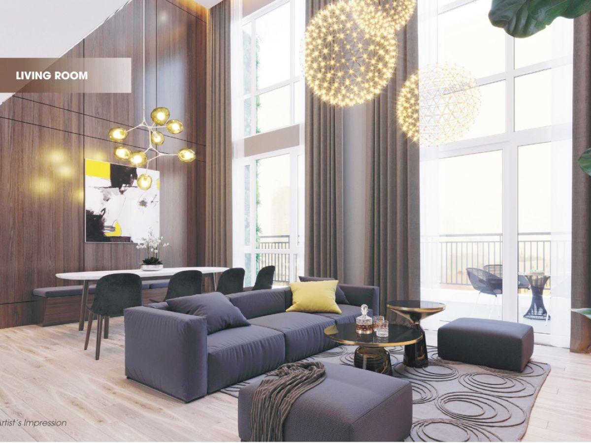Thiết kế căn hộ Vista Verde phong cách hiện đại