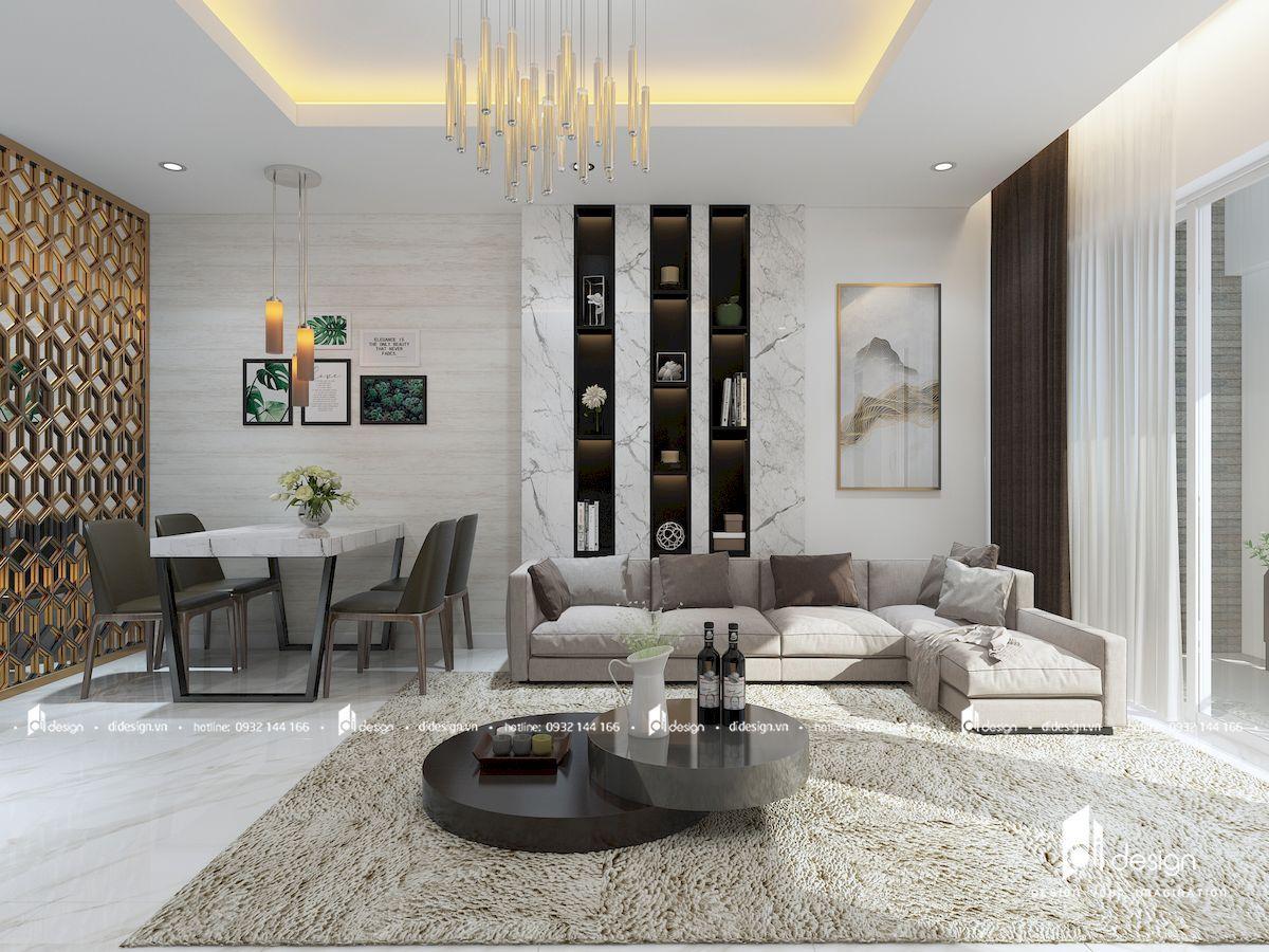 Thiết kế căn hộ chung cư 88m2 Centana Thủ Thiêm