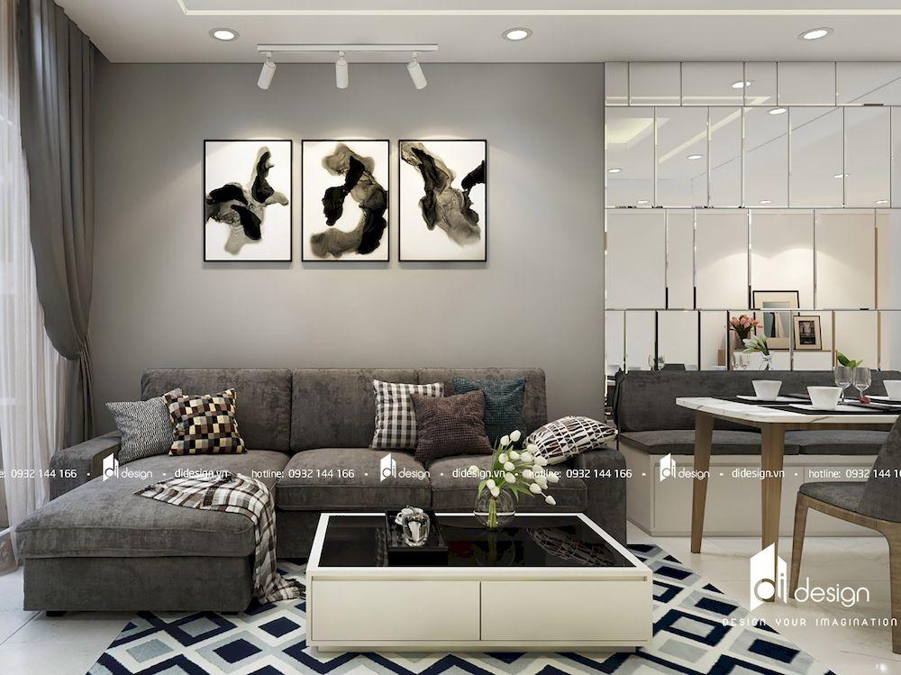 Thiết kế nội thất căn hộ Jamona 72m2
