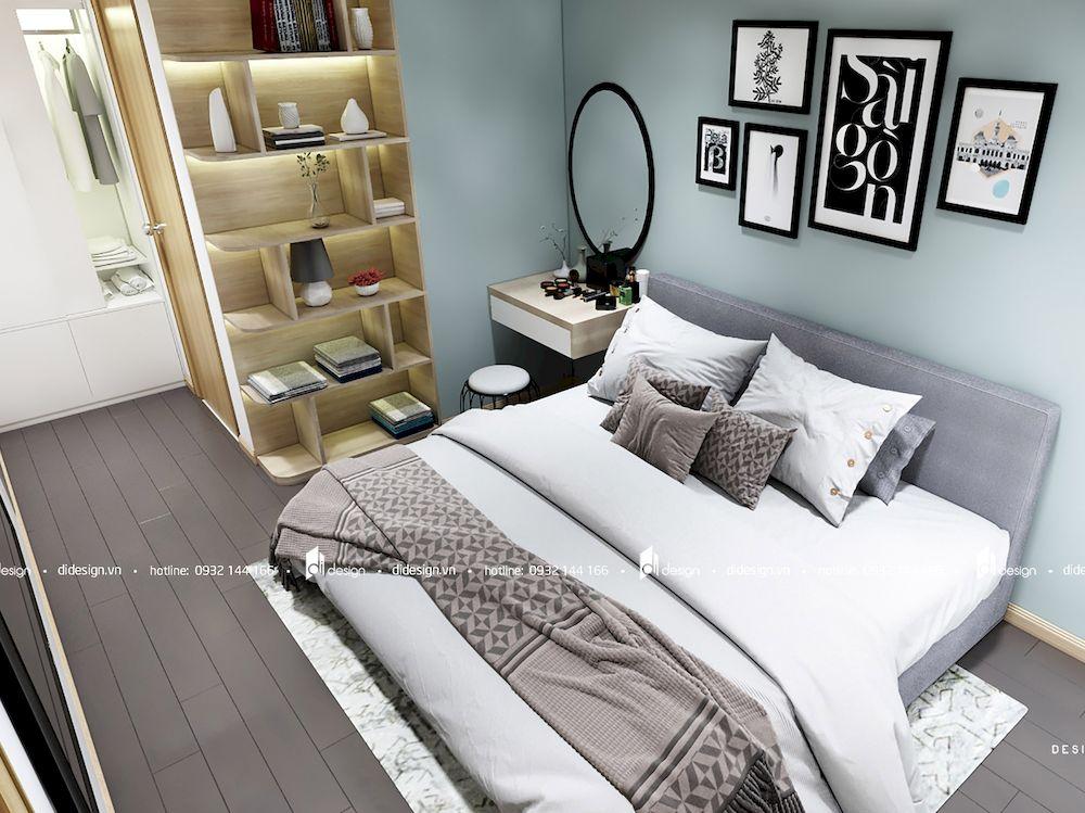 Thiết kế nội thất căn hộ 82m2 Sadora Sala 2 phòng ngủ