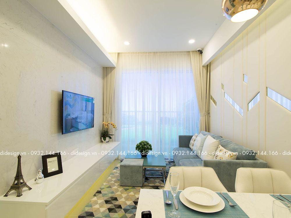 Thiết kế nội thất căn hộ 68m2 Botanica Premier