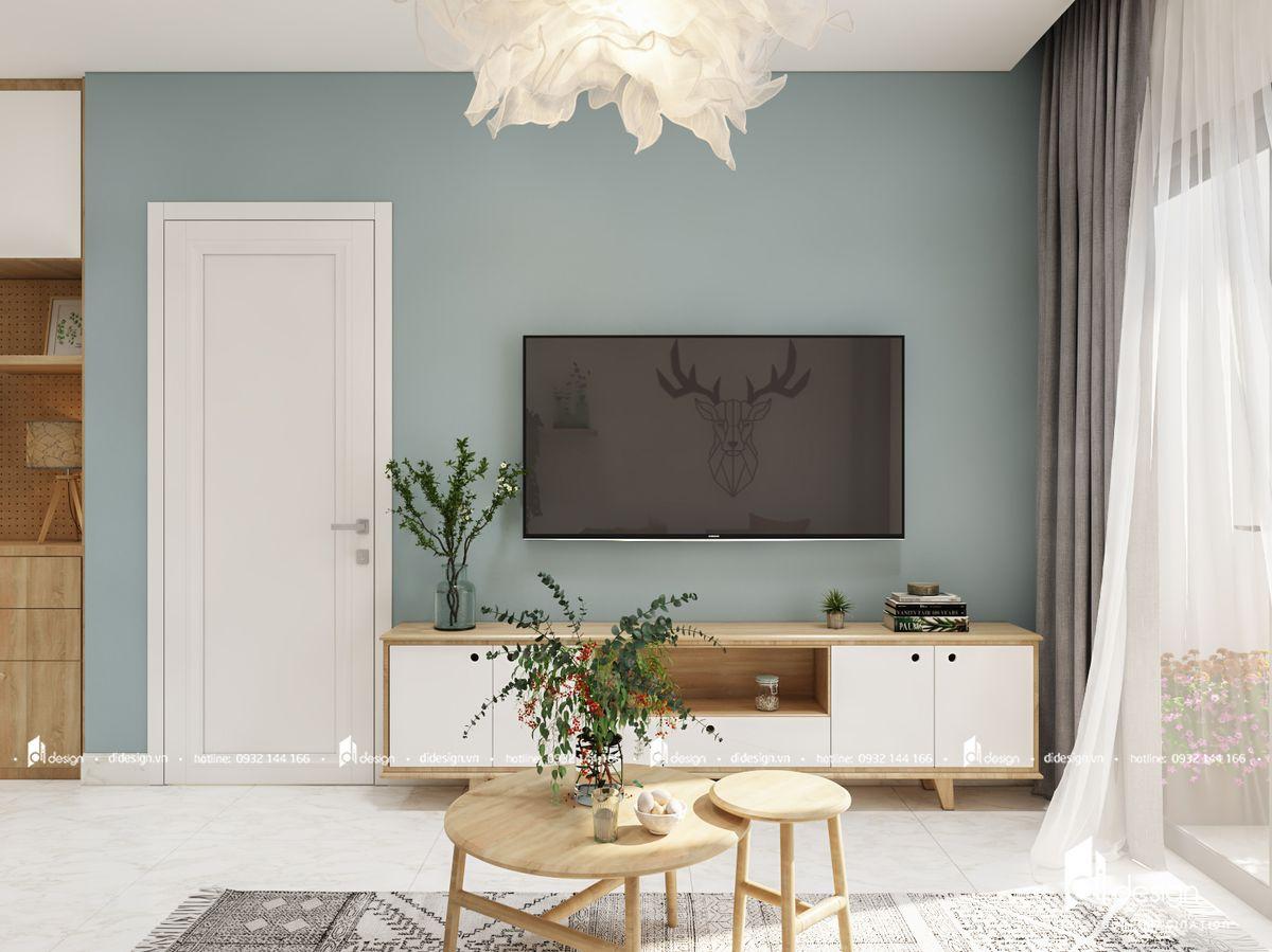 Thiết kế căn hộ Phú Mỹ Hưng Midtown 69m2 phong cách Scandinavian