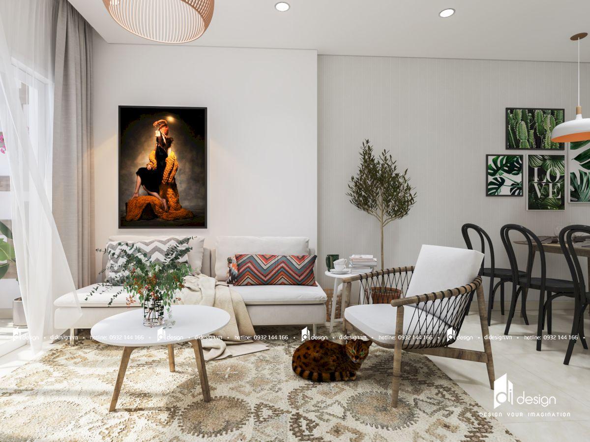 Thiết kế căn hộ Moonlight Boulevard 78m2 phong cách Scandinavian