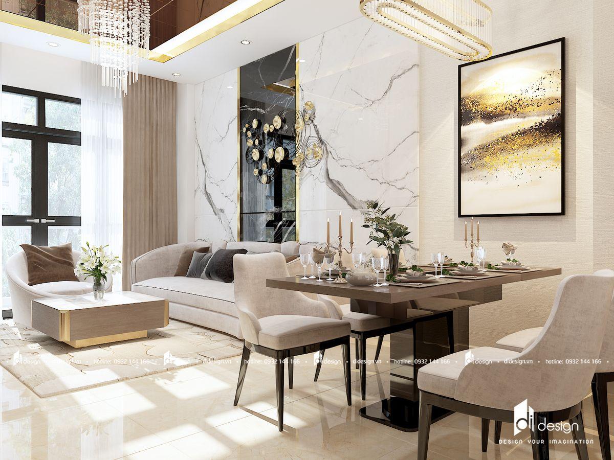 Thiết kế nội thất căn hộ River Panorama 114m2