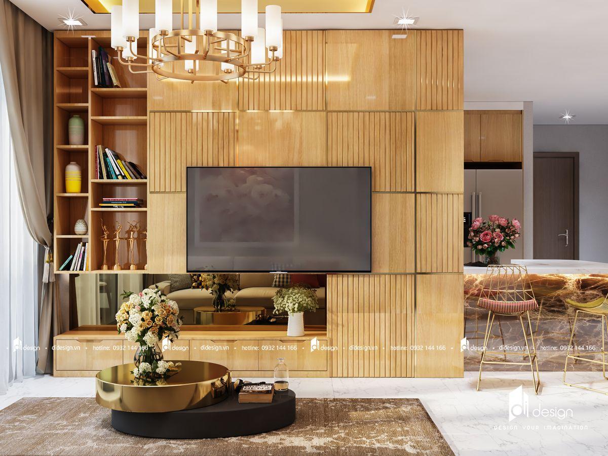 Thiết Kế Nội Thất Căn Hộ Sonata Residence 140m2