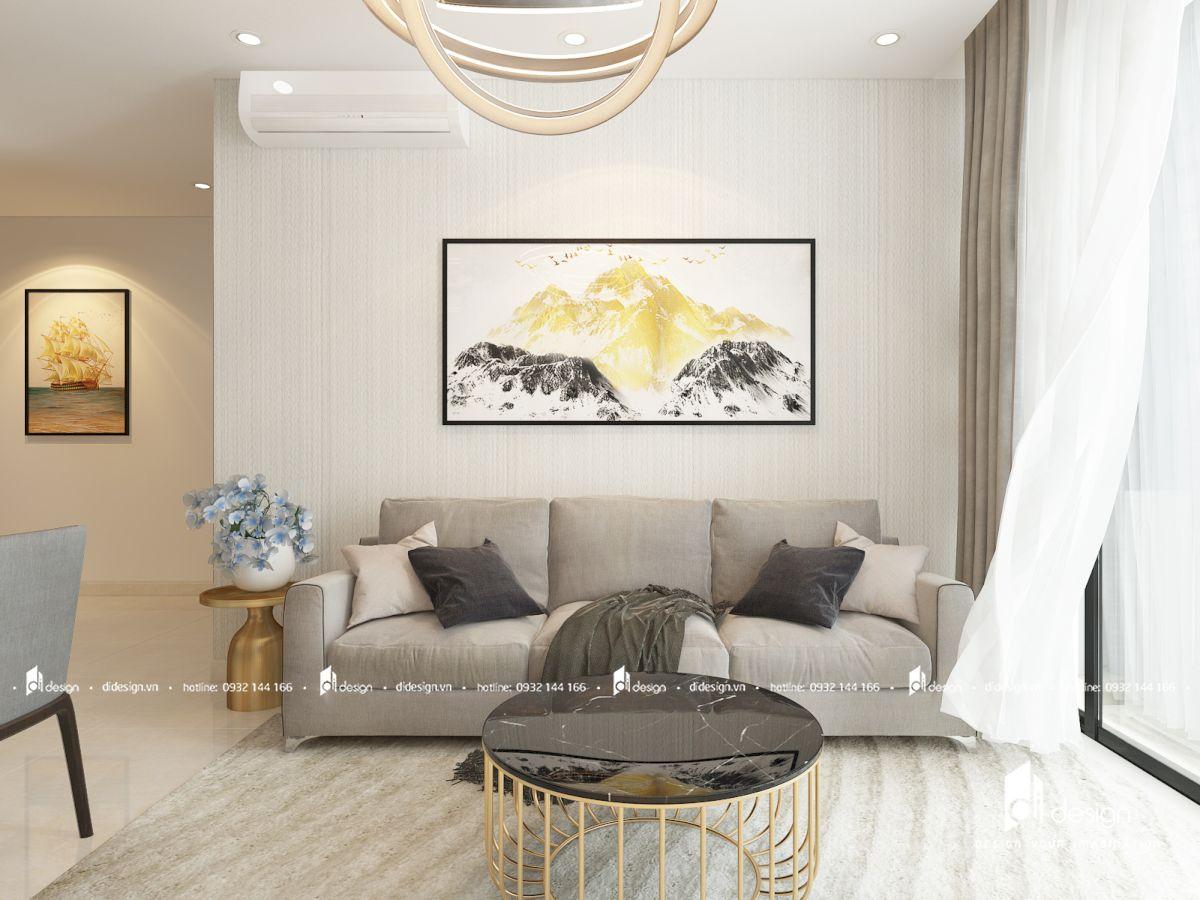 Thiết Kế Căn Hộ Sunwah Pearl 2 phòng ngủ đẹp hiện đại